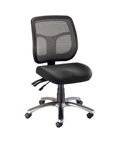 Alvin Argentum Mesh Back Office Chair CH728-45