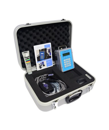 Compu-Flow C6 Doppler Ultrasonic Portable Flow Meter w/ Rate and Total Only C6PM/CLTV6.4HP