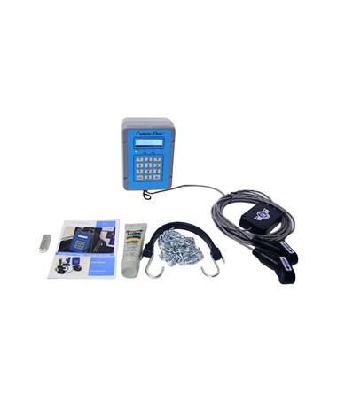 Compu-Flow C6 Doppler Ultrasonic Flow Meter COMC6FM-CLTV6-4HP