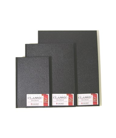 Cachet Classic Black Sketch Book CS10010