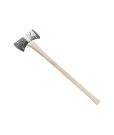 Council Tool Double Bit Classic Michigan Axe w/ Straight Hickory Handle