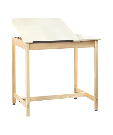 Diversified Woodcrafts Split Top Drawing Table System DIVDT-60SA-