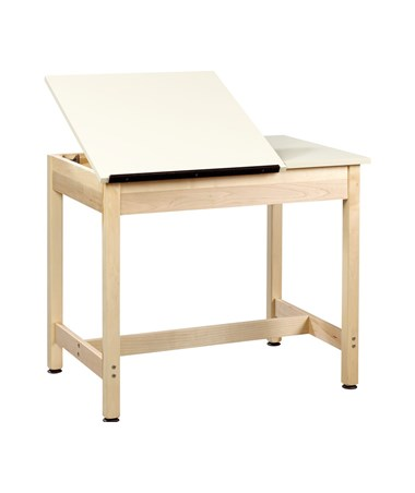 Diversified Woodcrafts Split Top Art and Drafting Table DIVDT-9SA30-