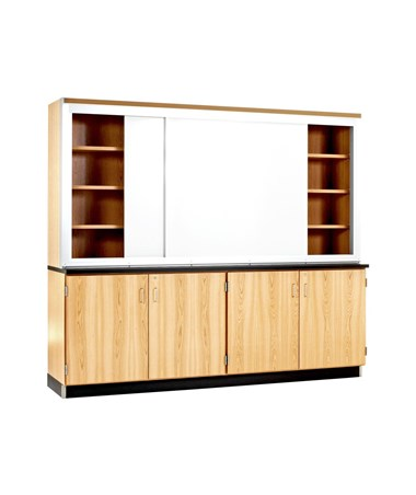 Diversified Woodcrafts Knowledge Plus Wall Cabinet DIVLW-8K