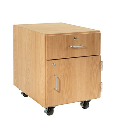 Diversified Woodcrafts M-Series Mobile Cabinet with Drawer DIVM18-2422-H30K-