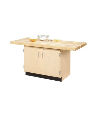 Diversified 2-Station Wood Cabinet Workbench DIVWW231-0V-
