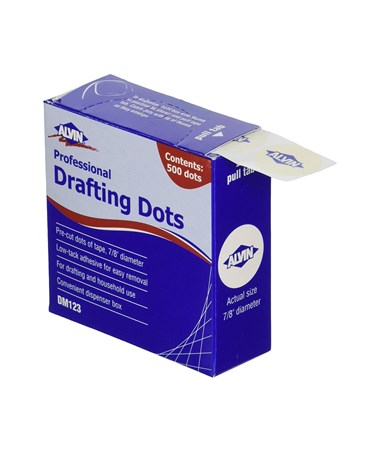 Alvin Professional Drafting Dots Qty. 1 DM123