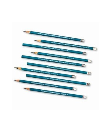TURQUOISE DRAWING PENCIL 2B E375-2B