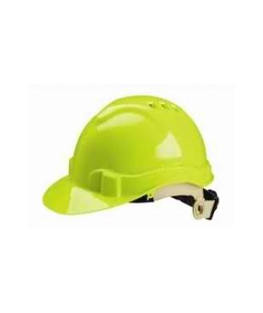 Eastern Metal Serpent Ratchet Adjusting Ventilated Hard Hat EAS71215-