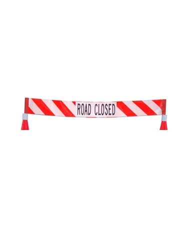 Eastern Metal Roll-Up Barricade EAS728R-CADE