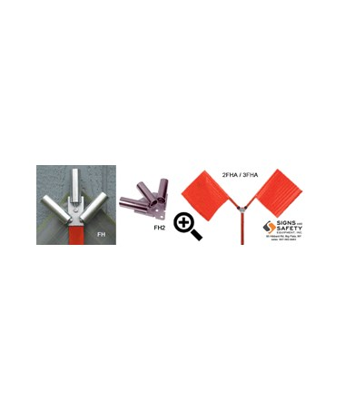Eastern Metal Flag Holder For Roll-Up Signs EASFH-
