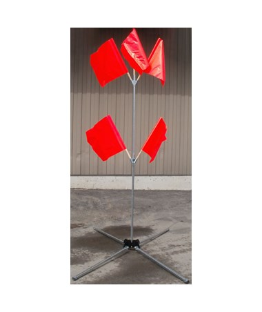 Eastern Metal Steel Flag Tree for 5 Flags EASFT-5-STEEL