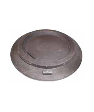 Eastern Metal Traffic Drum Molded Rubber Base EASHTB-025-