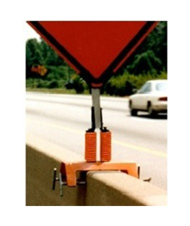 Jersey Coil Flex Spring Barrier Mount for Eastern Metal Sign Stand EASMBC-12-551-M-CS-