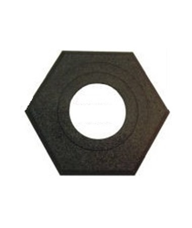 Octagonal Rubber Base for Eastern Metal RT-Series Channelizer EASRT-7010-742507-