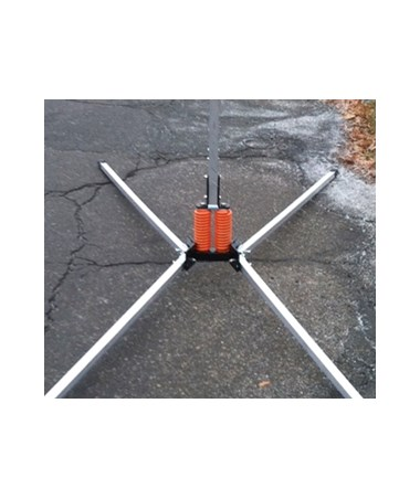 Eastern Metal X-600 Wind-Deflectable Full Size X-Stand EASX-601-KL-