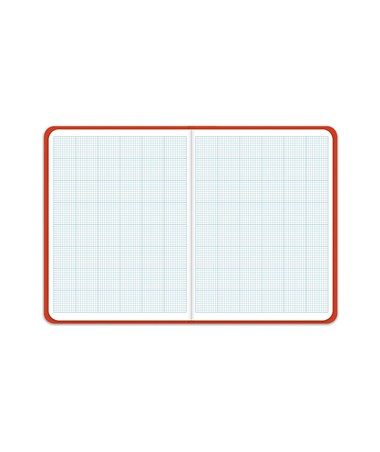 Elan King Size Cross Section Field Book, Bright Orange Hardbound Cover E10x10K-BO