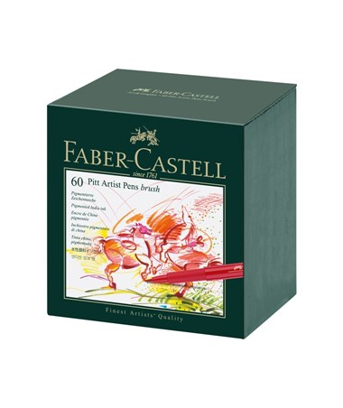Faber-Castell PITT Artist Brush Pen Set FC16677