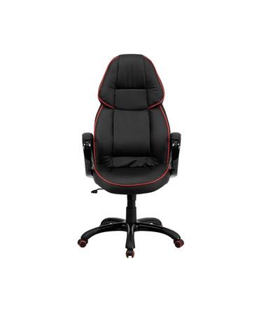 flash furniture high back black vinyl executive office chair ch