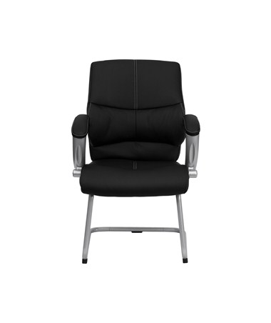 Cool Flash Furniture H 9637L 3 Side Gg Black Leather Executive Side Chair Pdpeps Interior Chair Design Pdpepsorg