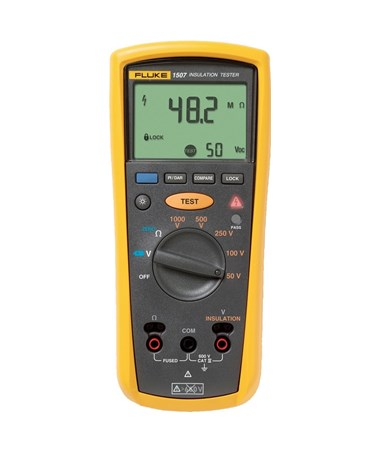 fluke 1503 insulation tester manual