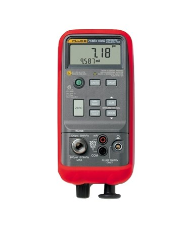 Fluke 718EX 100 Intrinsically Safe Pressure Calibrator with Integrated Pump, 100 PSIG FLU2096322