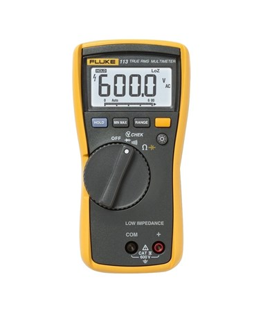 Fluke 113 True-RMS Basic Multimeter FLU3078875