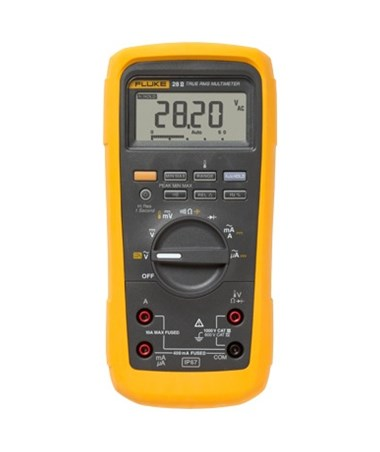 Fluke 28 II Intrinsically Safe True-RMS Industrial Multimeter FLU3301271