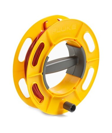Red Cable Reel for Fluke 1620 Series Earth Ground Tester, 50 Meters FLU4343754