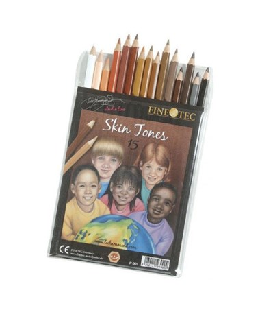 Finetec Skin Tones Pencil Set (15-Pack) FTP001