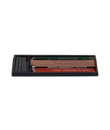 General's Basic Drawing Pencil Kit G10