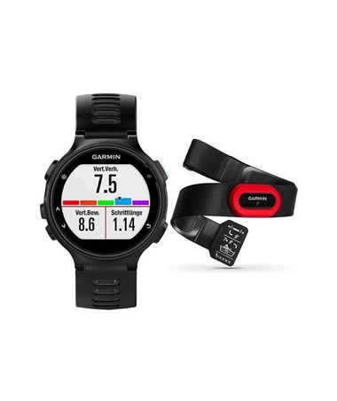 Garmin Forerunner 735XT GPS Watch Black Run Bundle 010-01614-12