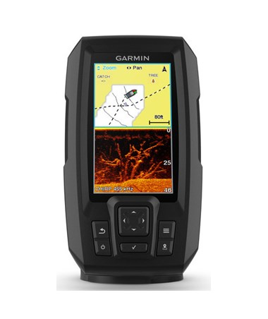 "Garmin 4.3"" Striker Plus 4cv GPS Fishfinder With CV20-TM Transducer 010-01871-00"