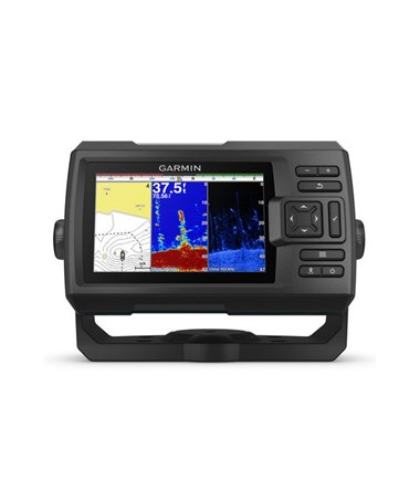 "Garmin 5"" Striker Plus 5cv GPS Fishfinder With CV20-TM Transducer 010-01872-00"