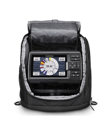 "Garmin 5"" Striker Plus 5 GPS Fishfinder With GT8HW-IF Transducer (Ice Fishing Bundle) 010-01872-20"