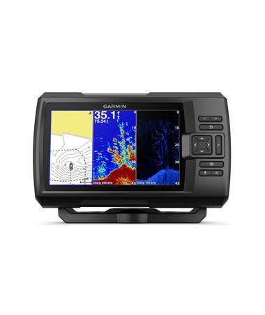 "Garmin 7"" Striker Plus GPS 7cv Fishfinder With CV20-TM Transducer 010-01873-00"
