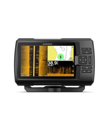 "Garmin 7"" Striker Plus 7sv GPS Fishfinder With CV52HW-TM Transducer 010-01874-00"