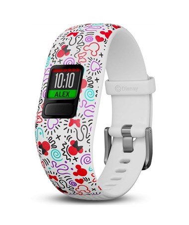 Garmin Vivofit Jr. 2 Activity Tracker w/ Adjustable Disney Minnie Mouse Band 010-01909-30
