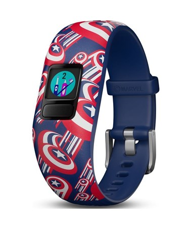 Garmin Vivofit Jr. 2 Activity Tracker w/ Adjustable Marvel Captain America Band 010-01909-32