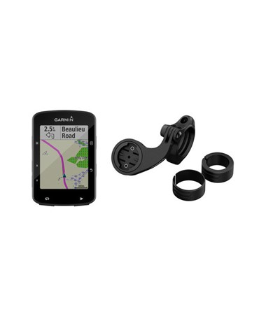 Garmin Edge 520 Plus GPS Navigator with Cycle Map Mountain Bike Bundle 010-02083-02
