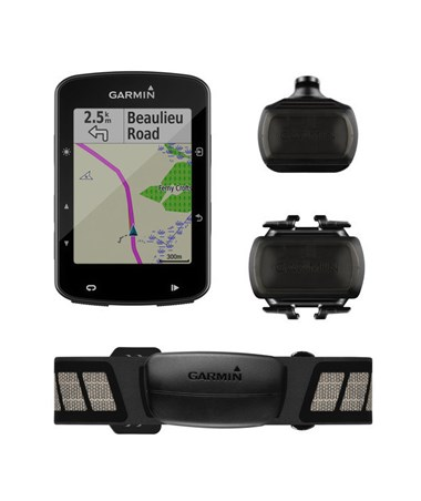 Garmin Edge 520 Plus GPS Navigator with Cycle Map Sensor Bundle 010-02083-01