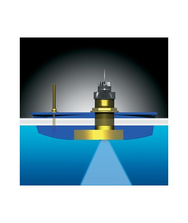 Garmin Airmar B744V Series Thru-Hull Mount Triducer GAR010-10183-22-