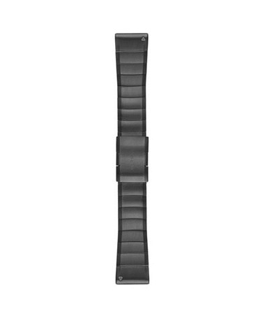 QuickFit 26 Watch Bands For Garmin GPS Watch Slate Gray Stainless Steel 010-12517-05