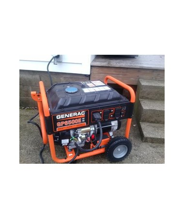 Generac 6931 Generac GP8000E Portable Generator Electric Start with Cord  (CARB) *DISCONTINUED*