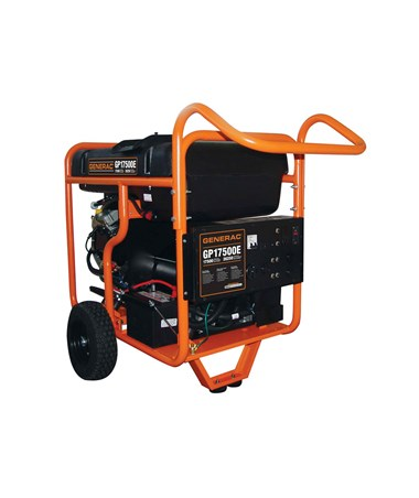 Generac GP17500E Portable Generator Electric Start