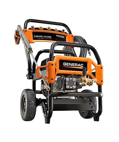 Generac 3100PSI Commercial Power Washer With CARB Certification