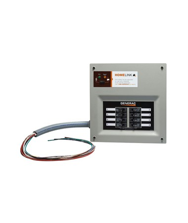 Generac HomeLink Upgradeable Pre-wired Manual Transfer Switch GEN6852-