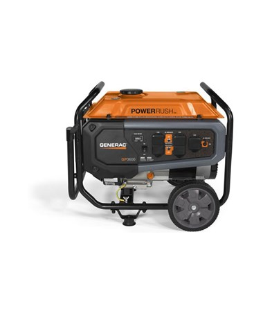 Generac GP3600 Series Portable Generator with PowerRush Technology GEN7677-