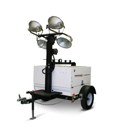 Generac MLT5080 Mobile Light Tower w/ Vertical (25') Mast & Electric Winch MLT5080KV-STD