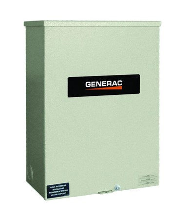 Generac 120/240V Non-Service Rated Automatic Smart Transfer Switch GENRXSC100A3-